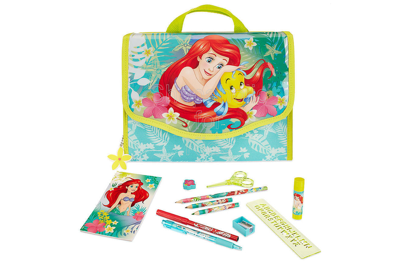 Disney Ariel Zip-Up Stationery Kit - Shopaholic for Kids