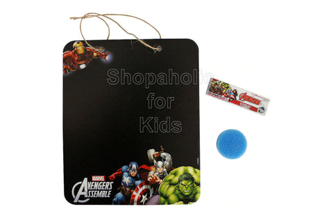 Marvel Avengers Chalkboard Sign Set