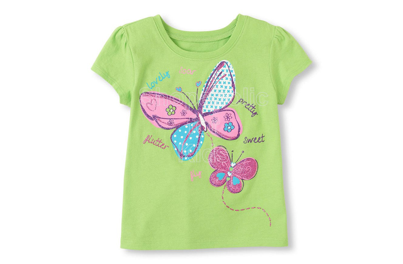 Children's Place  Baby Butterflies Graphic Tee - Shopaholic for Kids