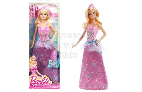 Barbie Fairytale Magic Princess Barbie Doll, Purple