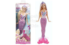 Barbie Fashion Mix and Match - Blonde Barbie With Purple Crown