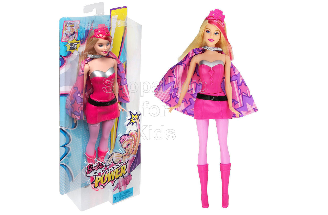 Barbie in Princess Power Superhero Doll - Shopaholic for Kids