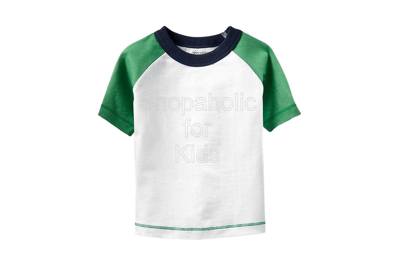 Old Navy Baseball Tees Bright White - Shopaholic for Kids