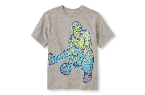 Children's Place Basketball Player Graphic Tee