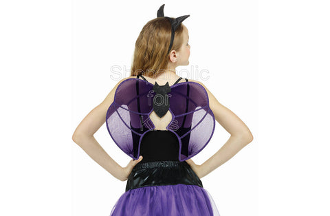 Girls' Bat Halloween Costume Accessory Kit
