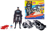 "DC Comics Justice League Action Batman & Transforming Batcycle, 12"" - Shopaholic for Kids"