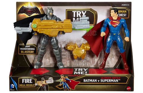 Batman vs Superman: Dawn of Justice Ultimate Battle Figure 2-Pack