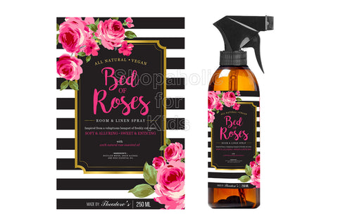 Theodore's Home Care Pure Natural Bed of Roses Room and Linen Spray