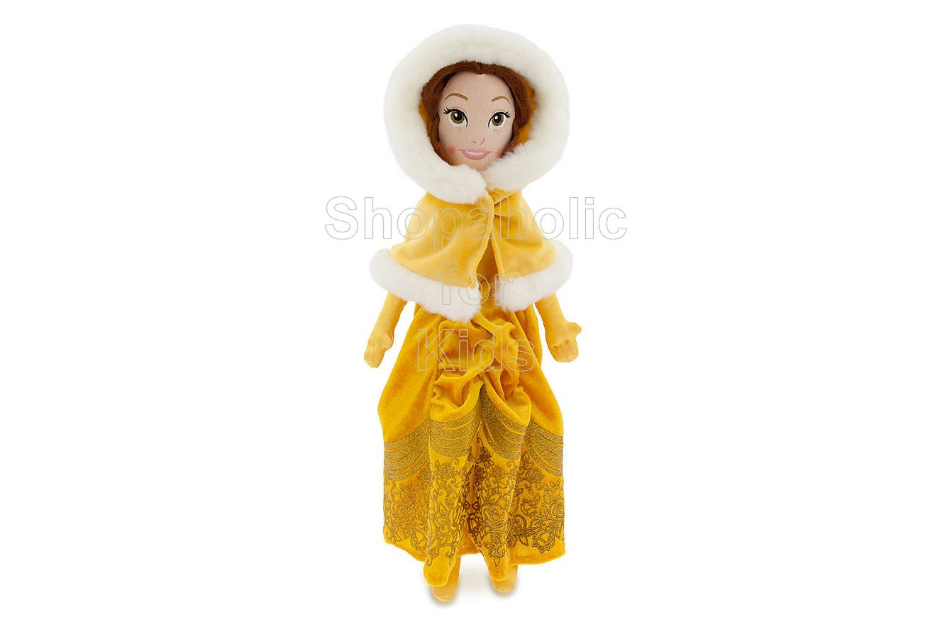 Disney Princess Belle Plush Doll - Beauty and the Beast - 21'' - Holiday (Limited Edition) - Shopaholic for Kids