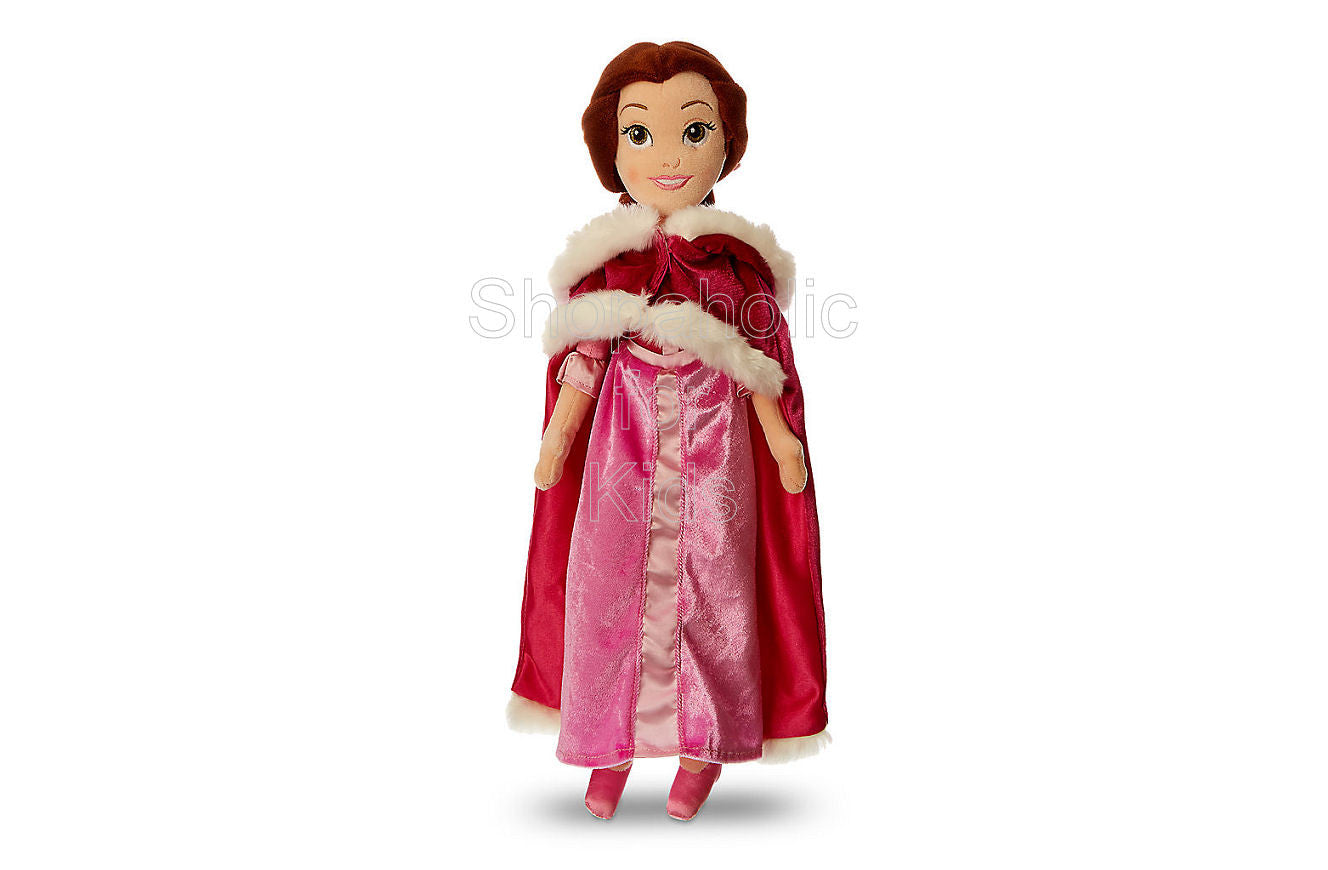 Disney Belle Plush Doll with Cape - Beauty and the Beast - 19 1/2 inches - Shopaholic for Kids