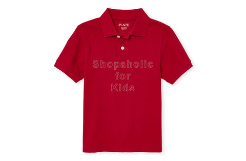 Children's Place Pique Polo - Classic Red