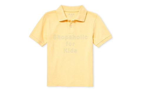 Children's Place Pique Polo - New Yellow