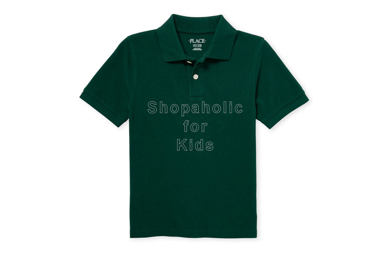 Children's Place Pique Polo - Sprucehad - Shopaholic for Kids