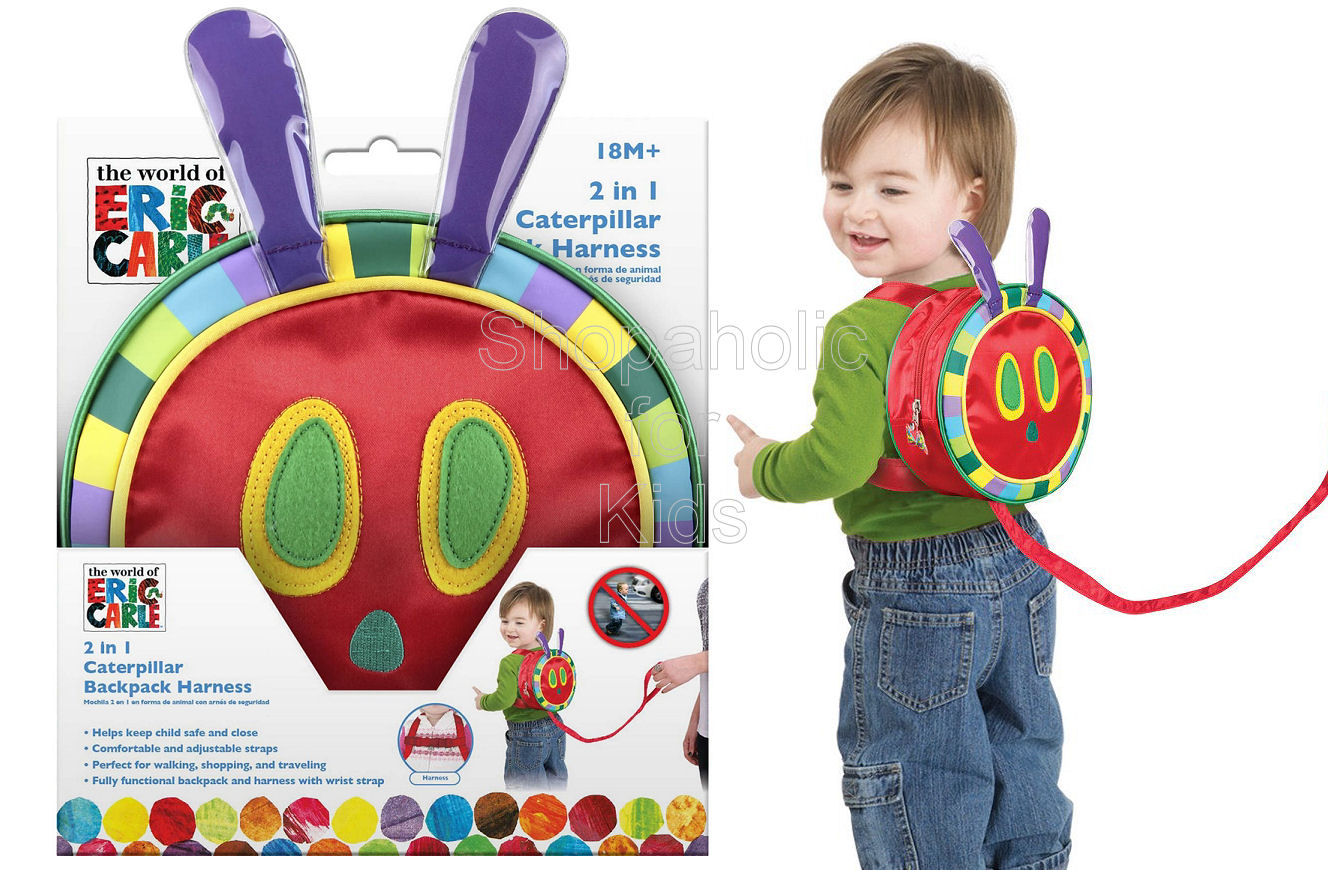 The World of Eric Carle 2 in 1 Caterpillar Backpack Harness - Shopaholic for Kids