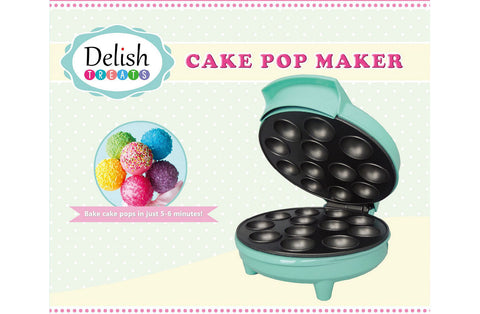 Delish Treats Cake Pop Maker - FREE SHIPPING