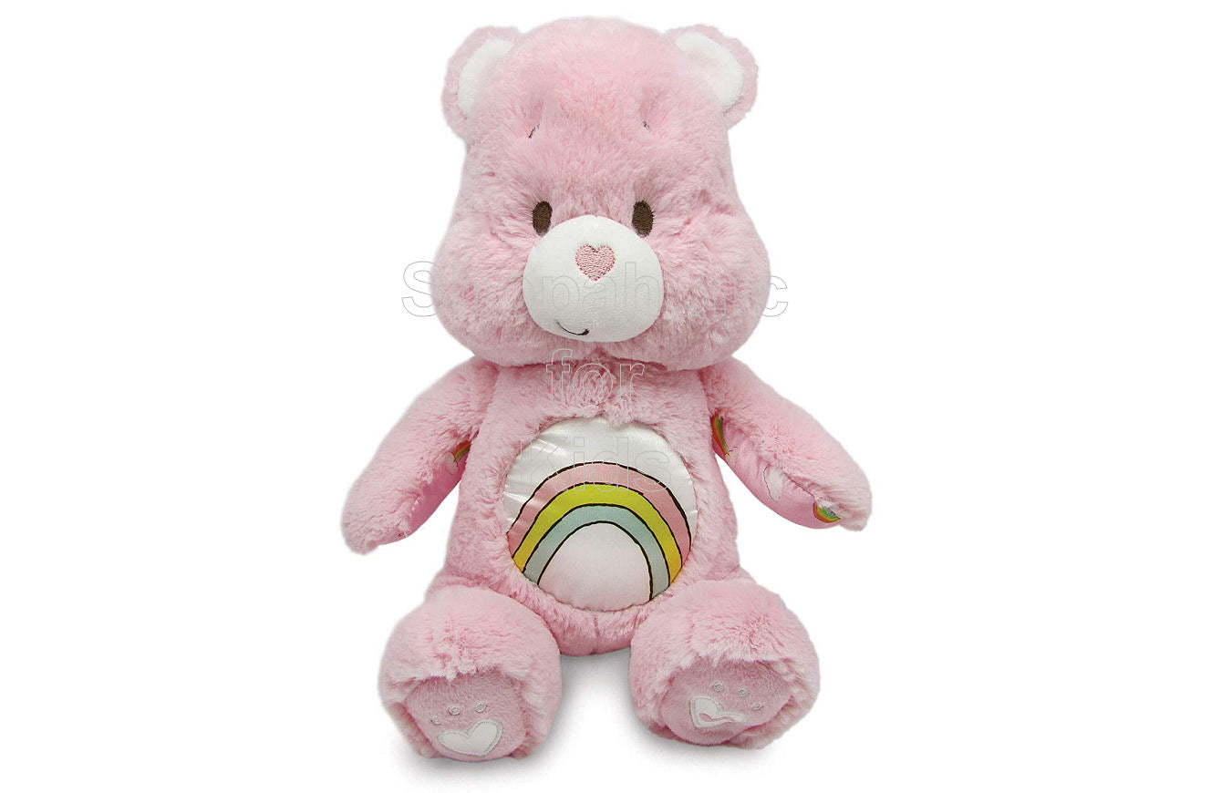 "Care Bears ""Cheer Bear"" Soother Bear Plush with Music & Lights"