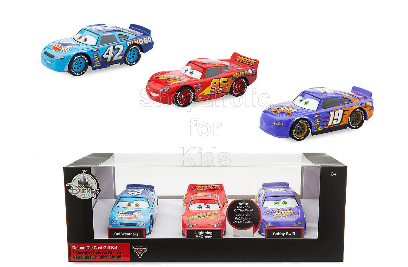 Disney Cars 3 Deluxe Die Cast Set - 3-Piece - Shopaholic for Kids