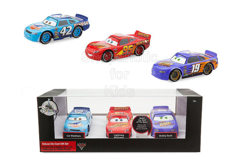 Disney Cars 3 Deluxe Die Cast Set - 3-Piece