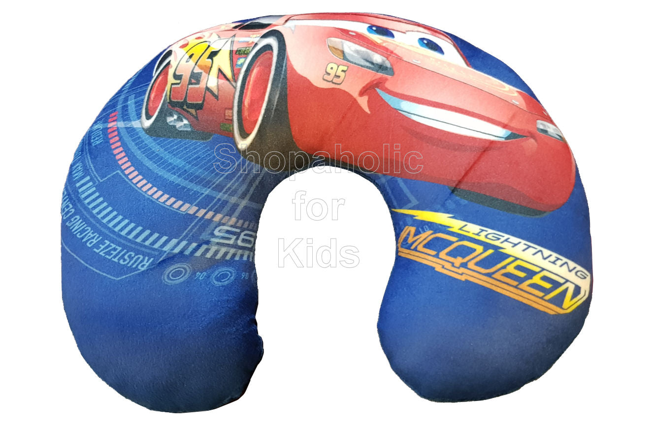 Cars Neck Pillow - Shopaholic for Kids