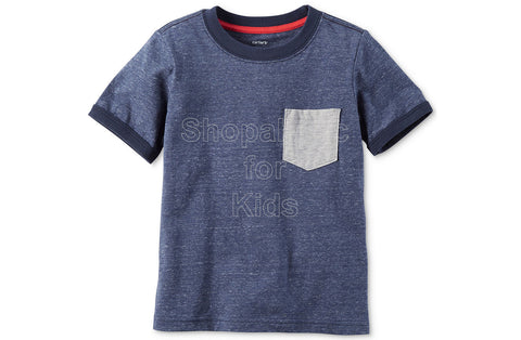 Carter's Pocket Cotton T-Shirt - Heather