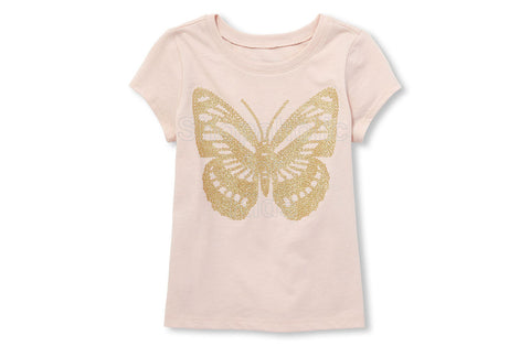 Children's Place Butterfly Graphic Top
