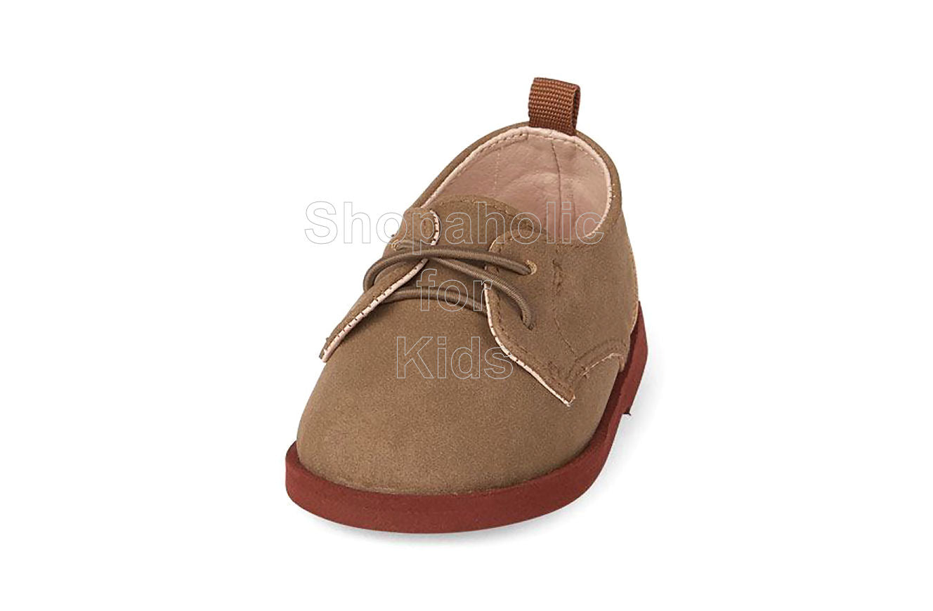Children's Place Oxford Taupe for Boys - Shopaholic for Kids