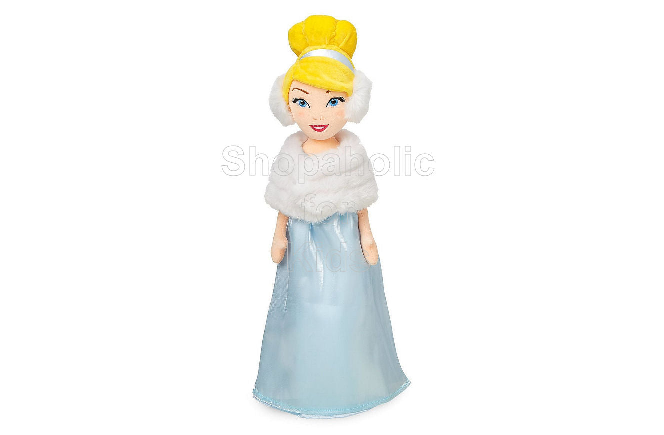 Disney Princess Cinderella Plush Doll in Winter Stole - Shopaholic for Kids