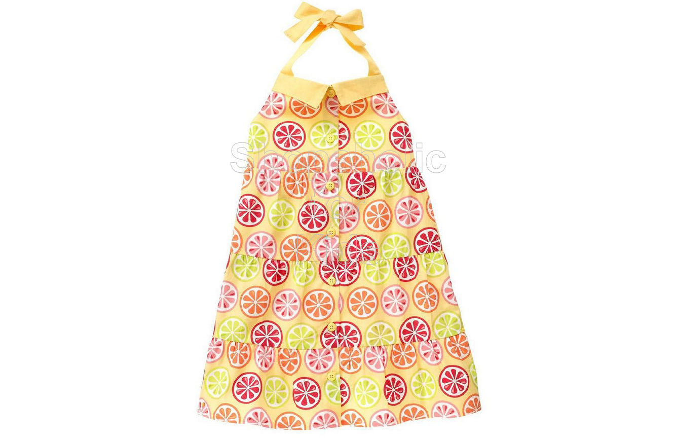 Gymboree Citrus Cooler Halter Dress - Shopaholic for Kids