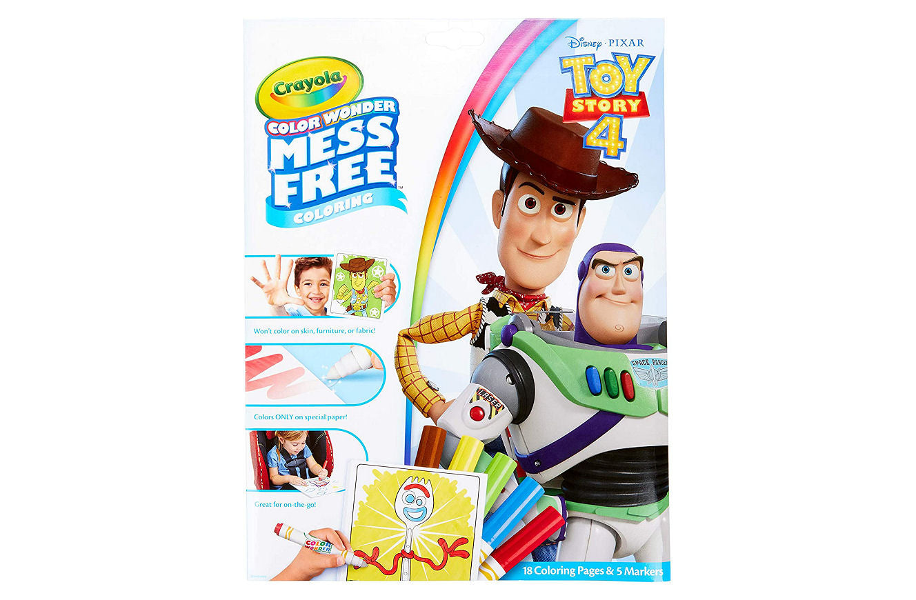 Crayola Color Wonder Coloring Book & Markers - Toy Story 4