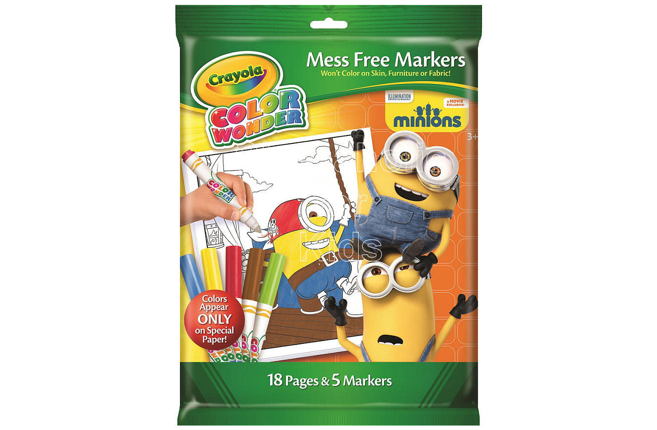 Crayola Color Wonder - Minions - Shopaholic for Kids