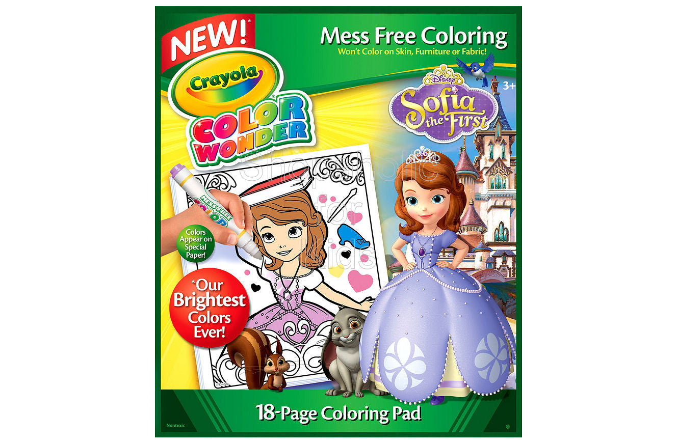 Crayola Color Wonder Coloring Pad - Sofia The First - Shopaholic for Kids