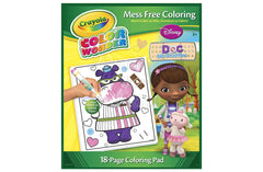 Crayola Color Wonder Coloring Pad, Doc McStuffins - Shopaholic for Kids