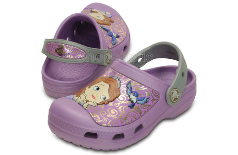 Creative Crocs Sofia the First Clog