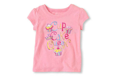 Children's Place Cupcake Queen Graphic Tee