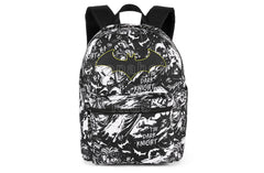 "DC Comics Justice League Batman Comic Print 16"" Backpack - Shopaholic for Kids"
