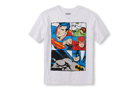 Children's Place DC Justice League Comic Graphic Tee - SOLD OUT