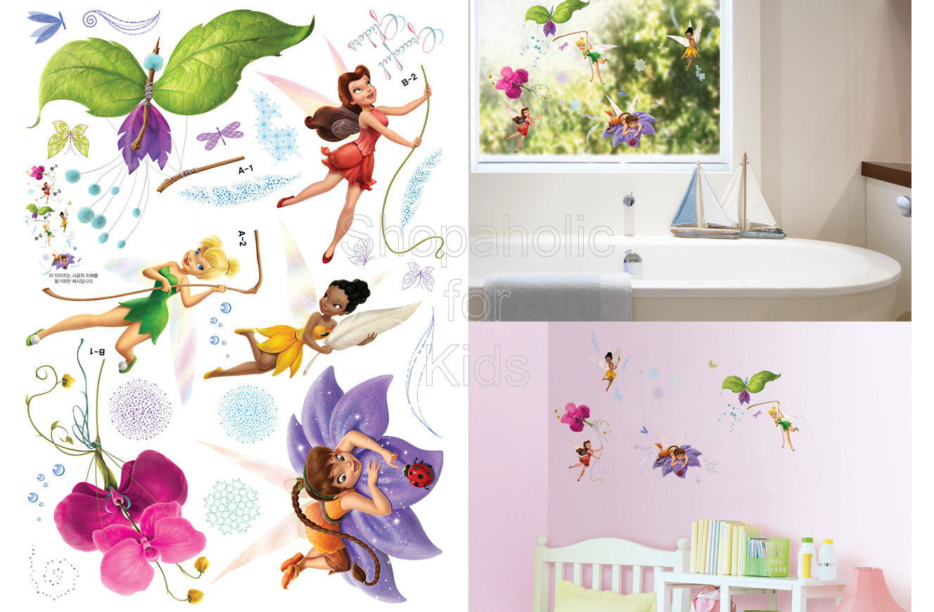 Tinker Bell Fairies Wall Sticker