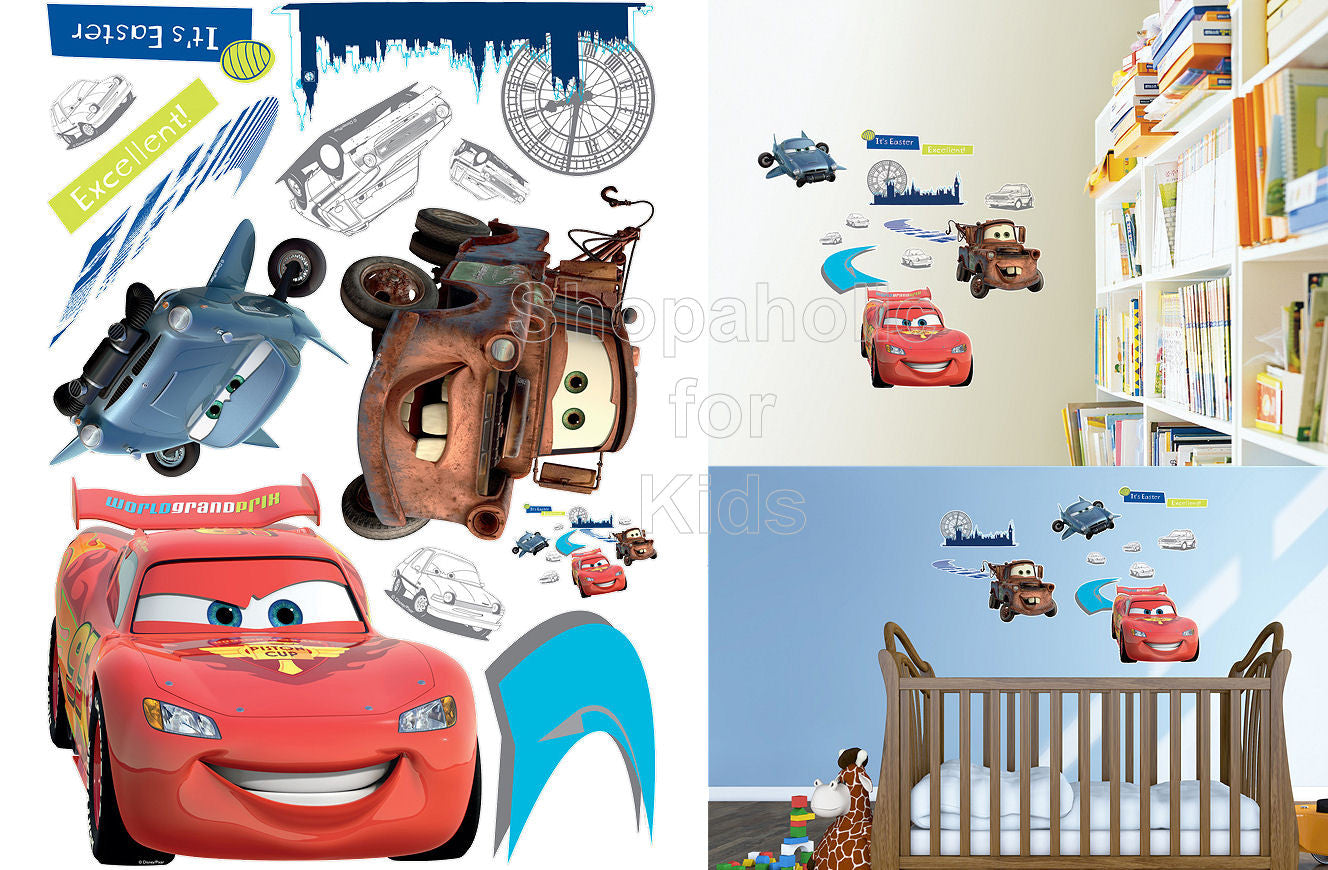 Disney Cars Wall Sticker - Shopaholic for Kids