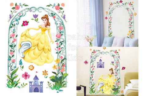 Disney Princess Belle Wall Sticker