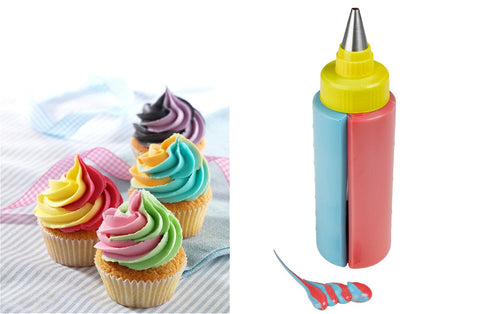 Delish Treats Two Tone Icing Bottle