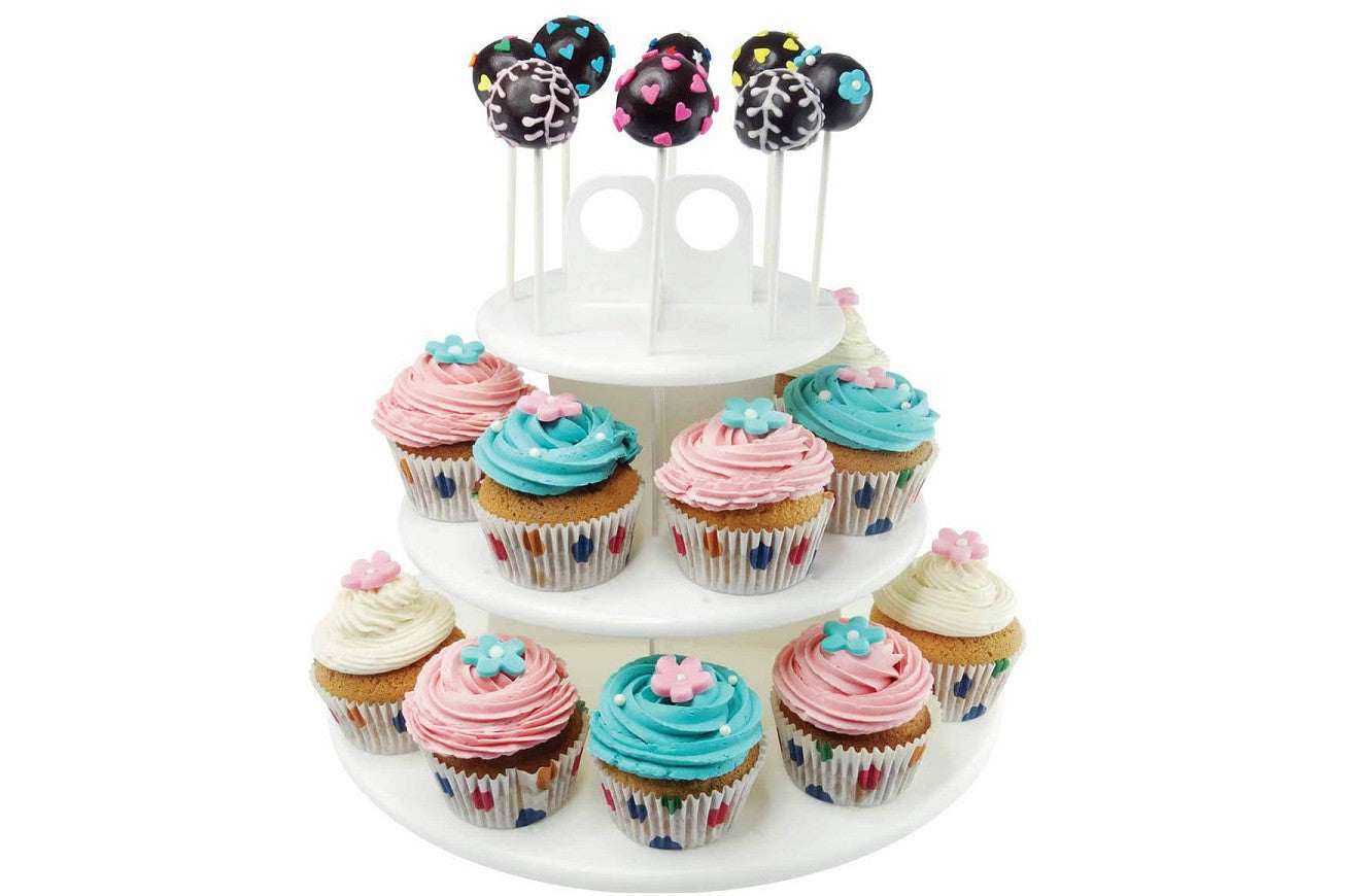 Delish Treats Cake Pop and Cupcake Stand - Shopaholic for Kids