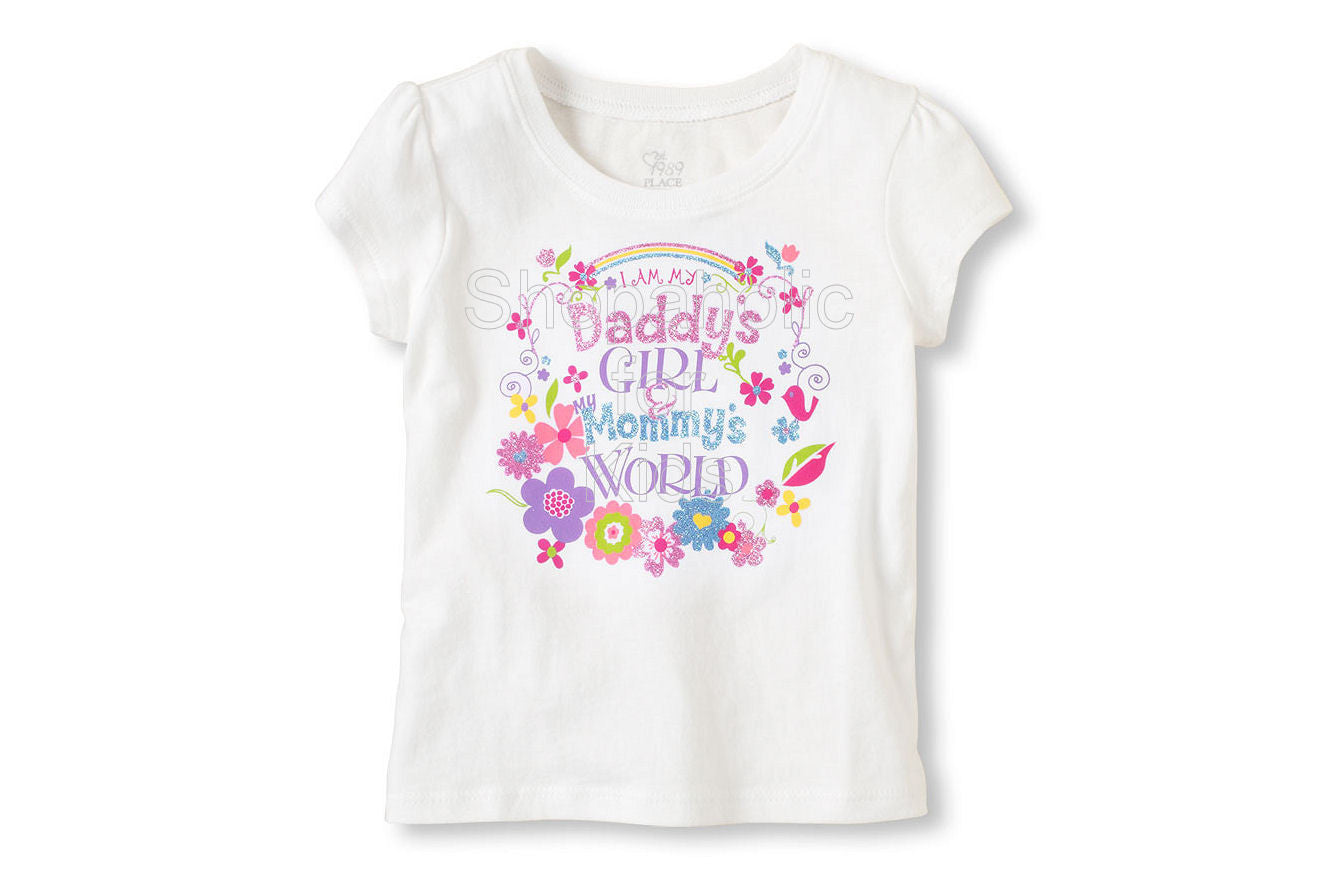 Children's Place Dad's Girl Graphic Tee - Shopaholic for Kids