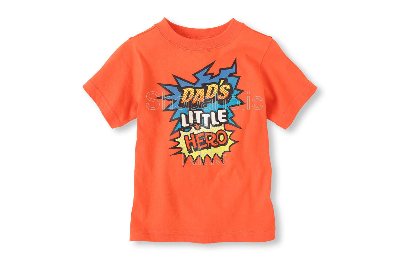 Children's Place Dad's Little Hero Graphic Tee - Shopaholic for Kids