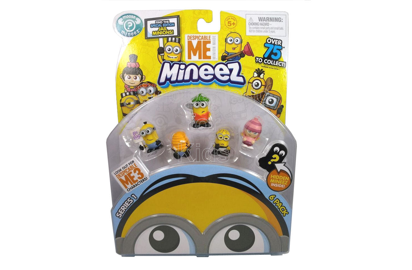 Despicable Me Minions Mineez Series 1 Character Pack, Set A