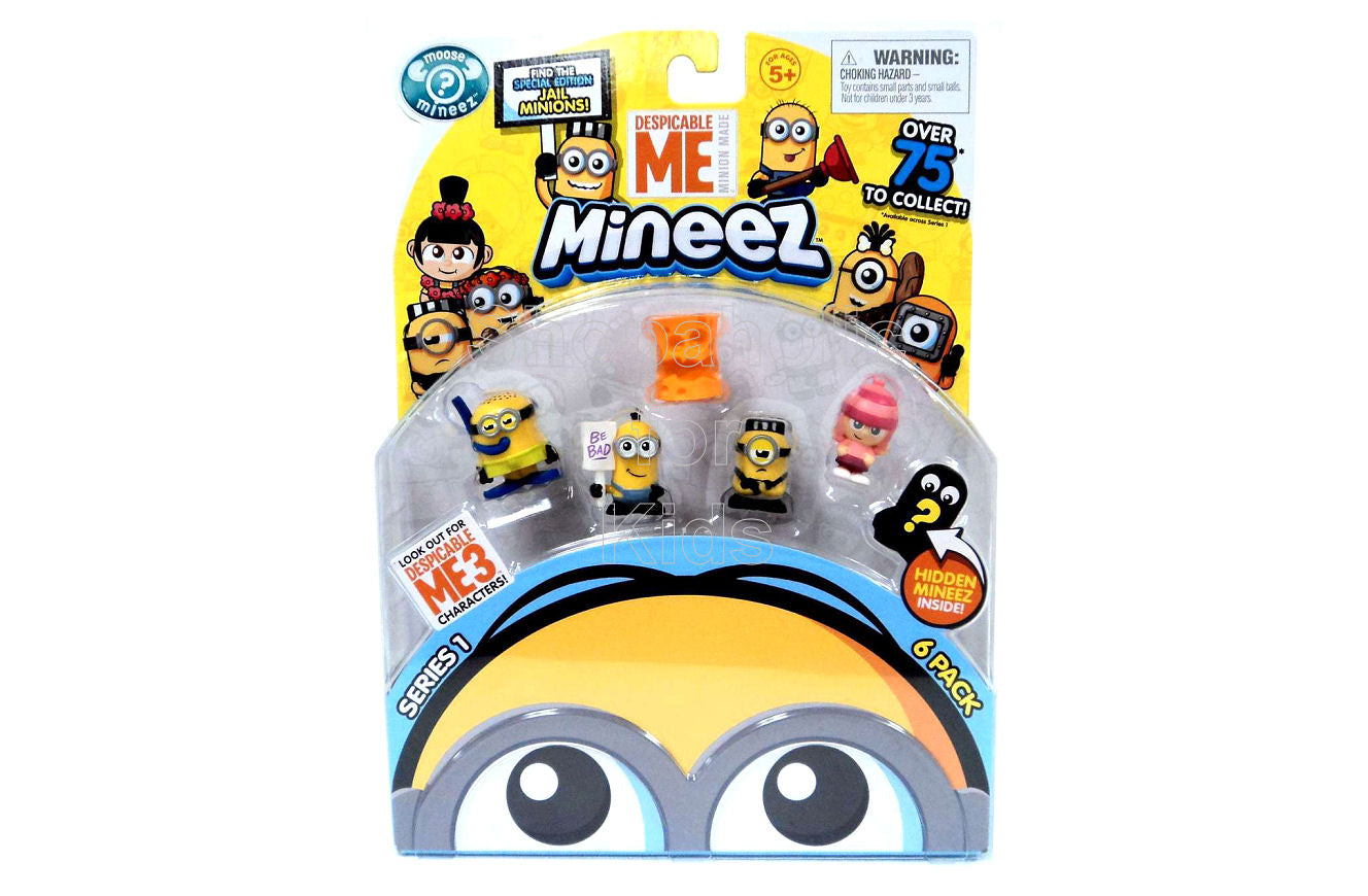 Despicable Me Minions Mineez Series 1 Character Pack, Set B - Shopaholic for Kids