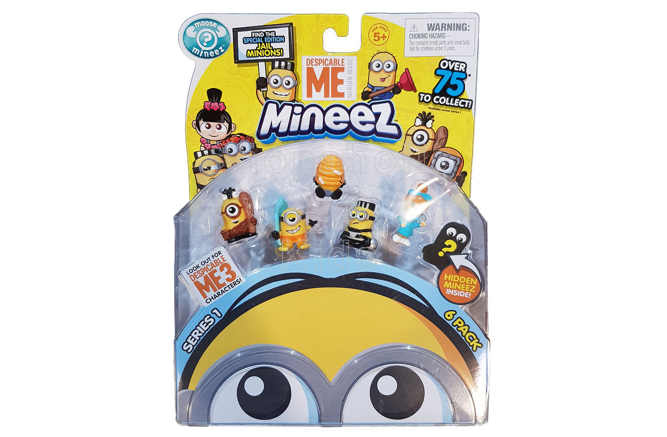 Despicable Me Minions Mineez Series 1 Character Pack, Set C - Shopaholic for Kids