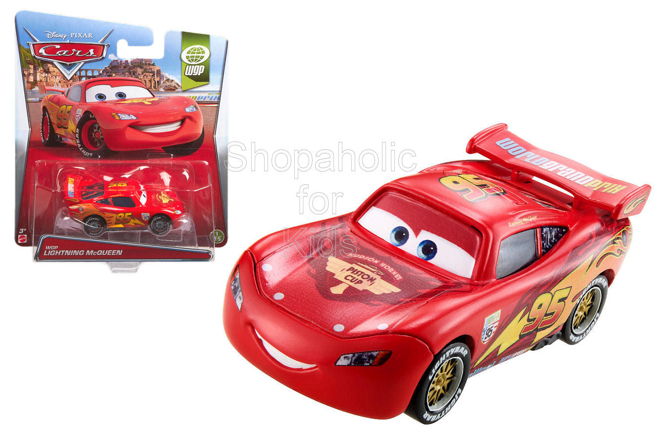 Disney Cars Diecast WGP Lightning McQueen - Shopaholic for Kids