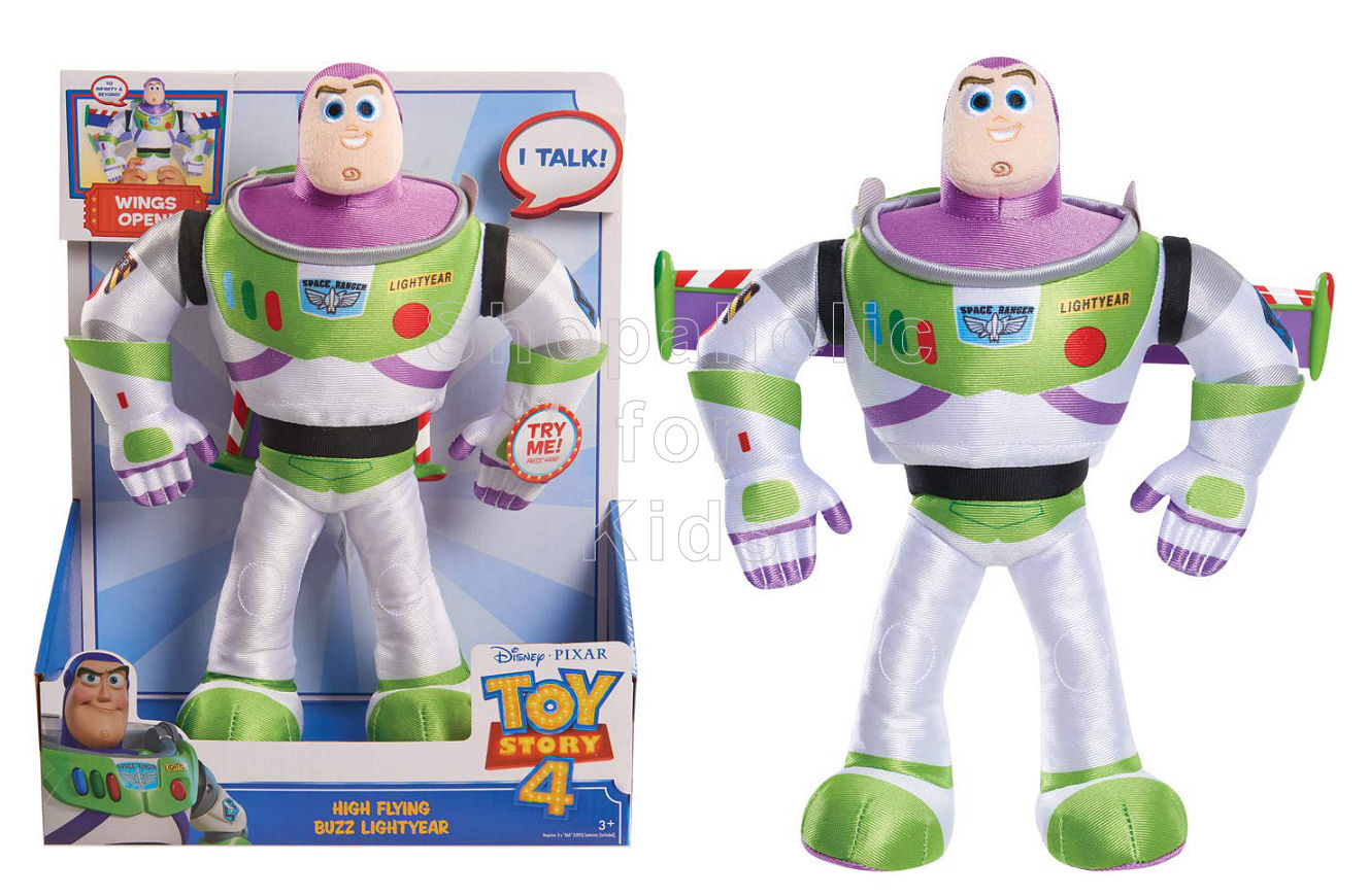 Disney Pixar Toy Story 4 High-Flying Buzz Lightyear Feature Plush - Shopaholic for Kids