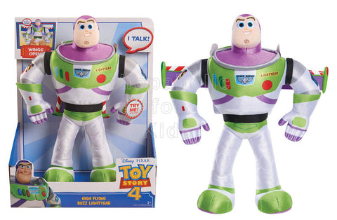 Disney Pixar Toy Story 4 High-Flying Buzz Lightyear Feature Plush
