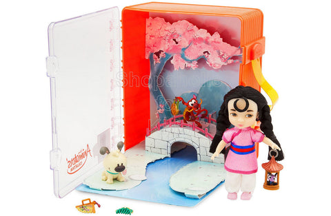 Disney Animators' Collection Mulan Mini Doll Playset